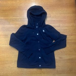 Abercrombie and Fitch hoodie jacket size L